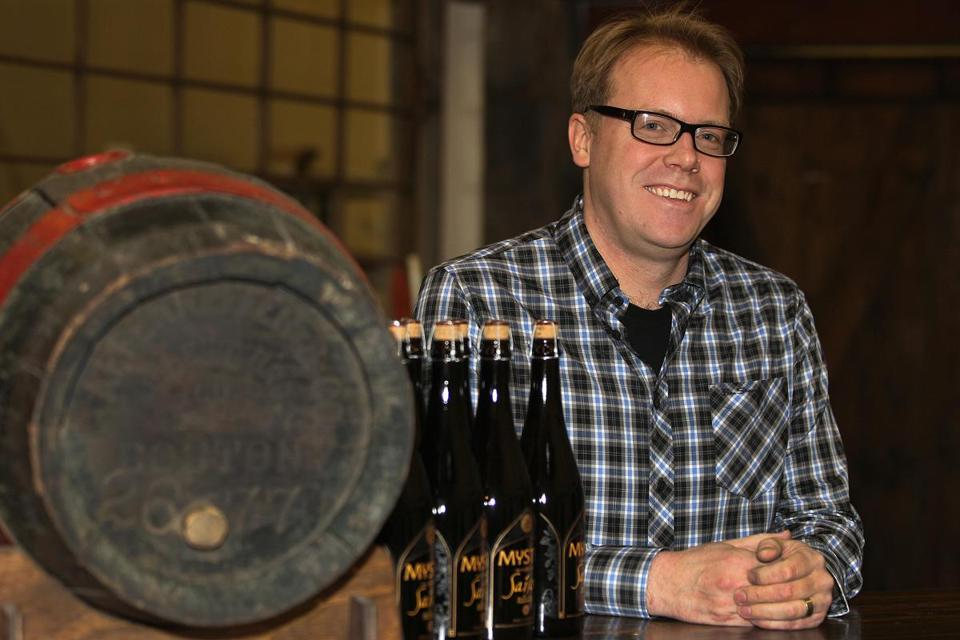 Bryan Greenhagen is brewer and founder of Mystic Brewery.