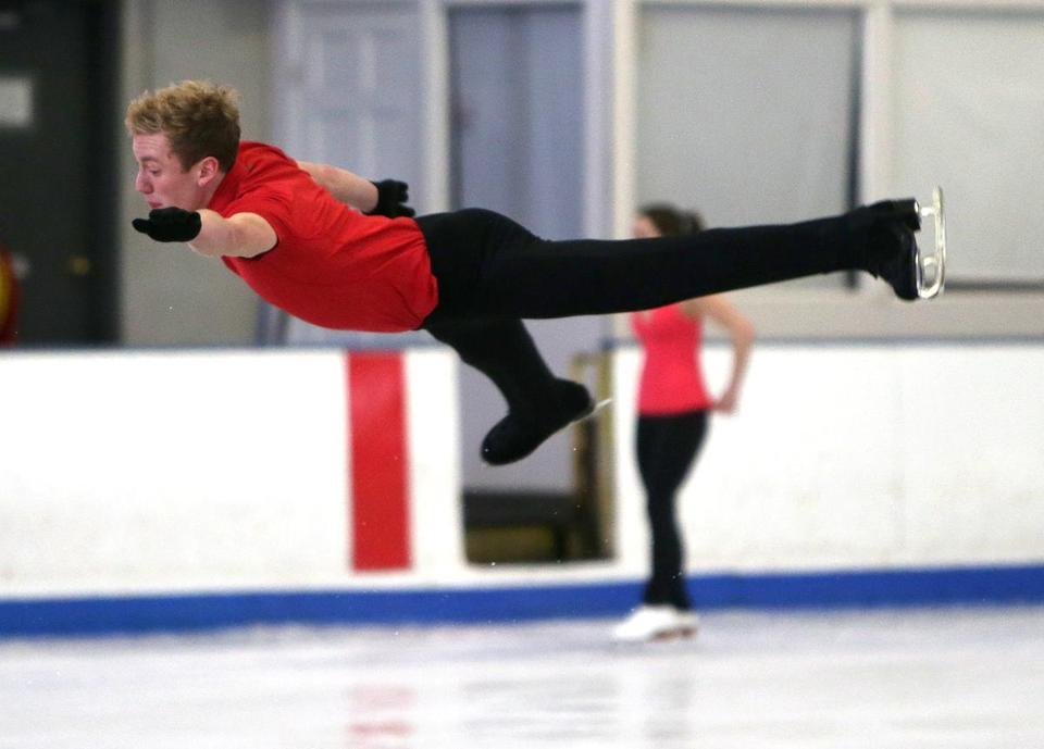 Ross Miner trains for the upcoming world championships in London, Ontario.