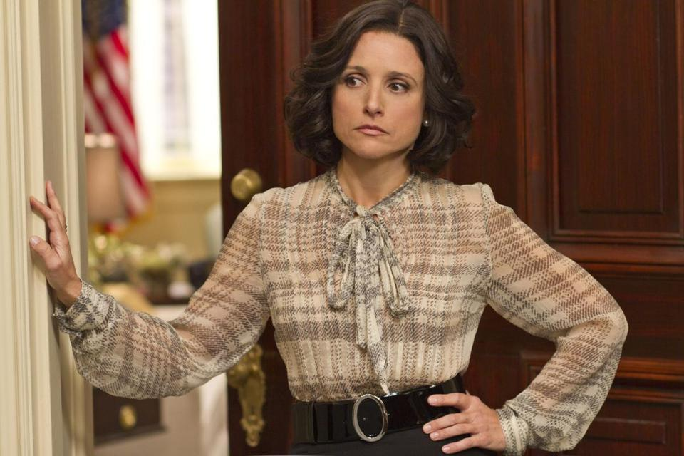 "Julia Louis-Dreyfus stars in ""Veep."""
