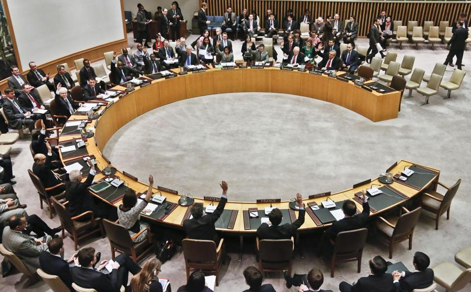 Security Council members voted for tough new sanctions against North Korea for its latest nuclear test.