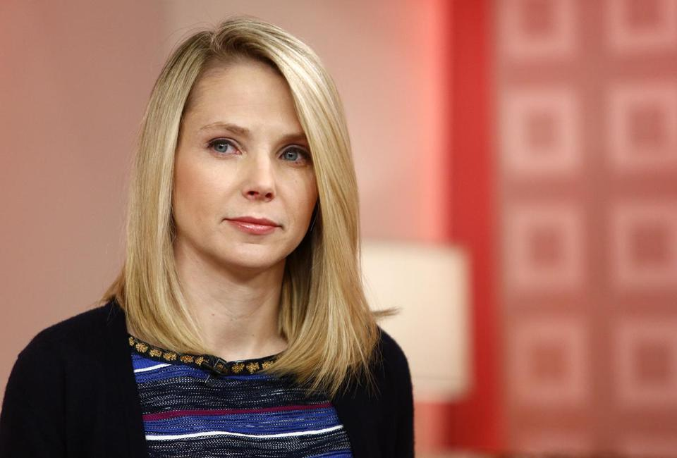 Yahoo CEO Marissa Mayer announced she is expecting twins in December.