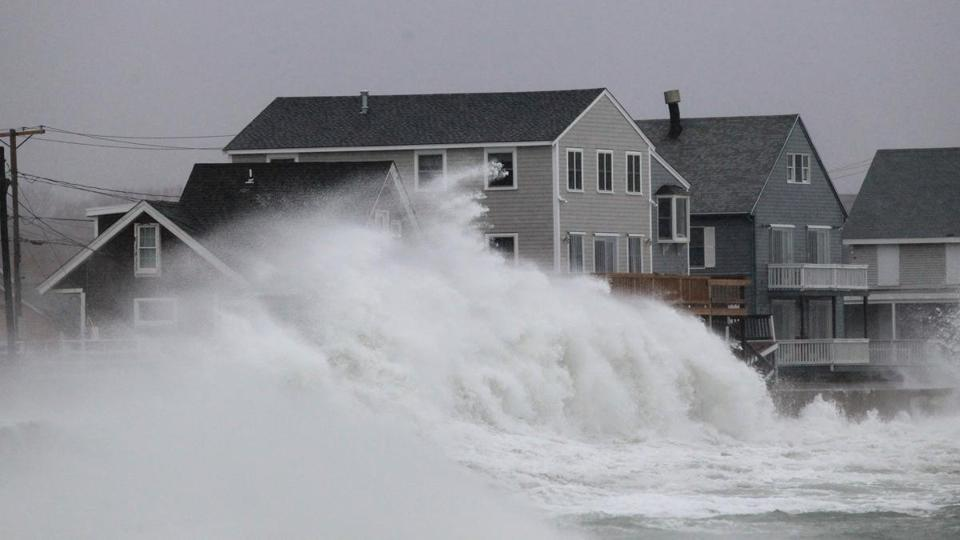 Scituate Fares First High Tide Well The Boston Globe