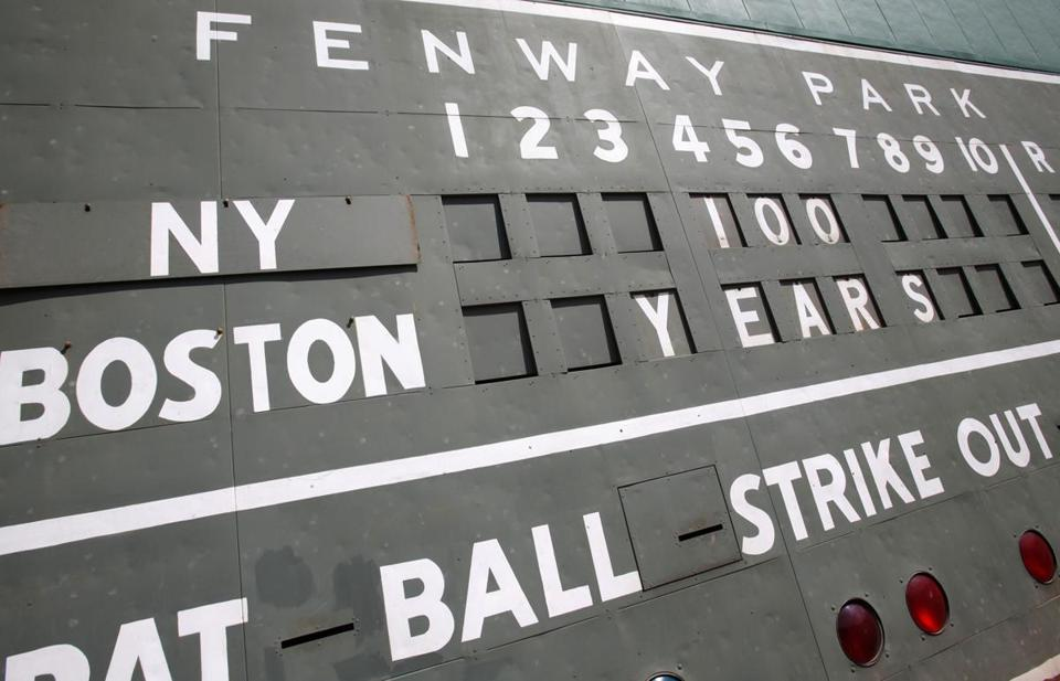 The best reason to put a new Fenway front and center today is the ball club.