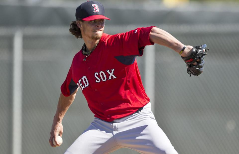 Red Sox starter Clay Buchholz is seeking a return to his 2010 form — a 17-7 record and 2.33 ERA.