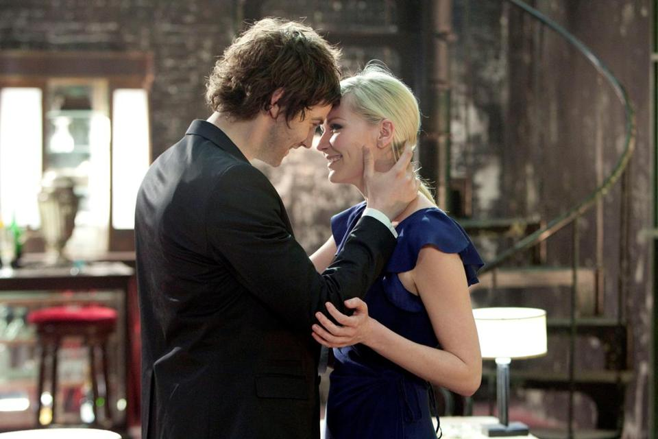 "Jim Sturgess and Kirsten Dunst star in Juan Solanas's ""Upside Down."""