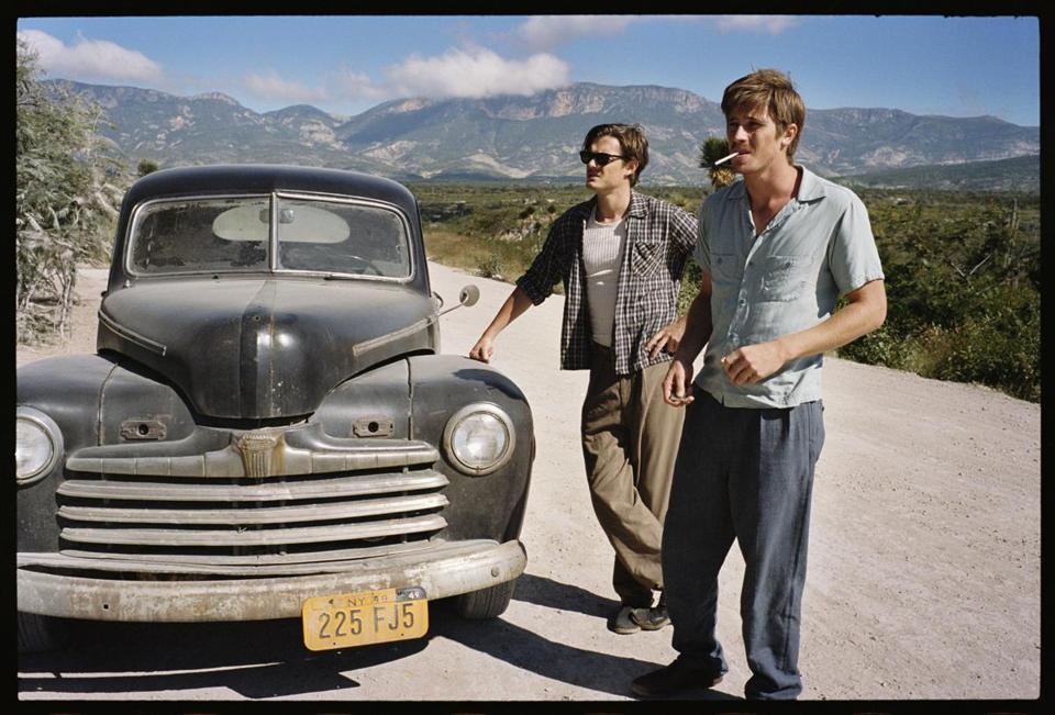 "Sam Riley (left) and Garrett Hedlund in ""On the Road."""