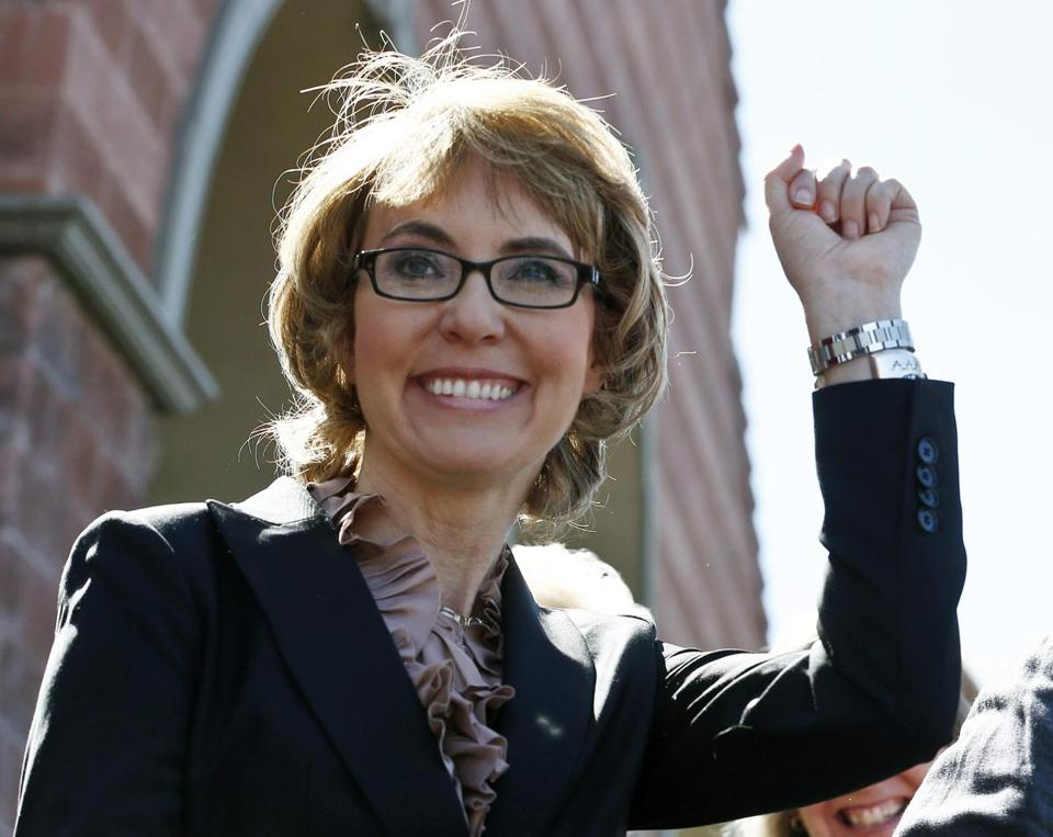 Gabrielle Giffords was wounded in a rampage that killed six people in Arizona in 2011.