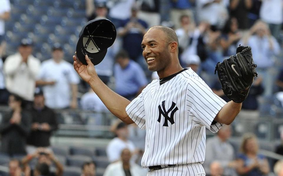 Yankees closer Mariano Rivera, 43, has one more year to build on his 608 saves, the most in baseball history.