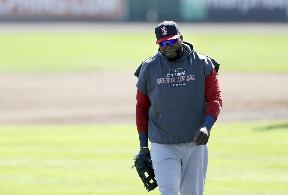Thursday was not a productive day for David Ortiz. The word is that his heel is OK but he has general soreness.