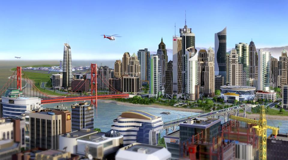Some online gamers were not able to log on after Tuesday's launch of a SimCity update.