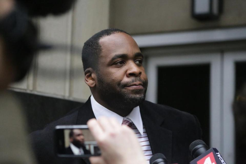 "Prosecutors said Kwame Kilpatrick ran a ""private profit machine"" out of City Hall."