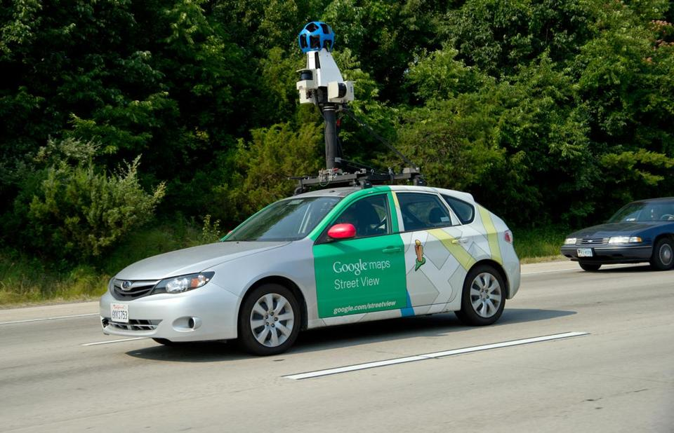 A Google Street View car on a Virginia highway last year. The company has promised to improve its systems.