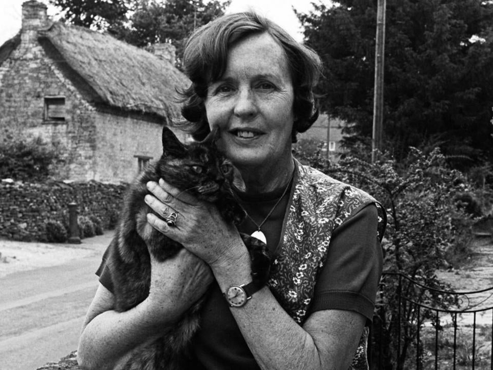 English novelist Barbara Pym