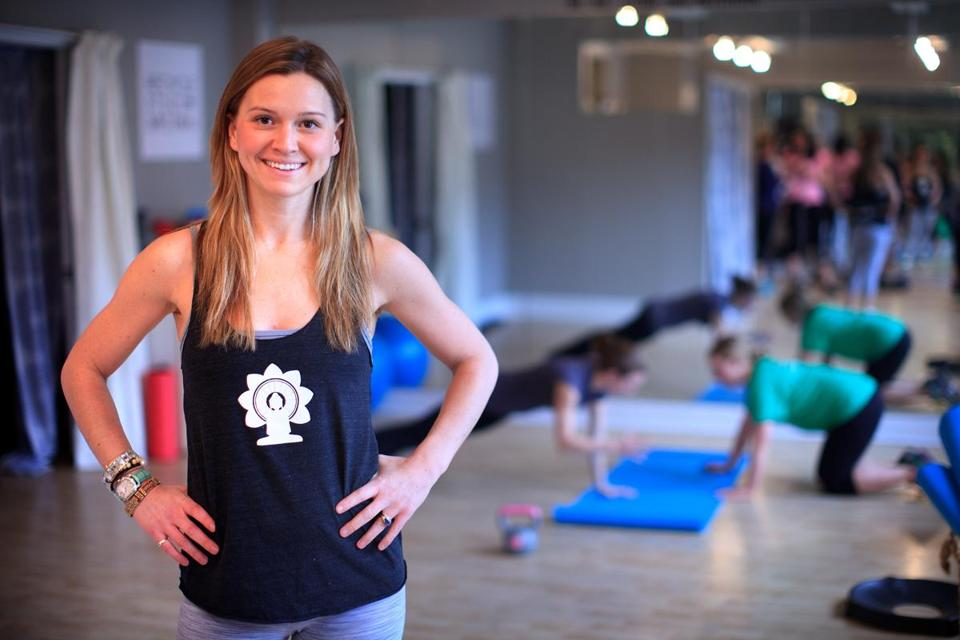 Recycle Studio owner Cate Dwyer just opened her second studio near Boston Common.