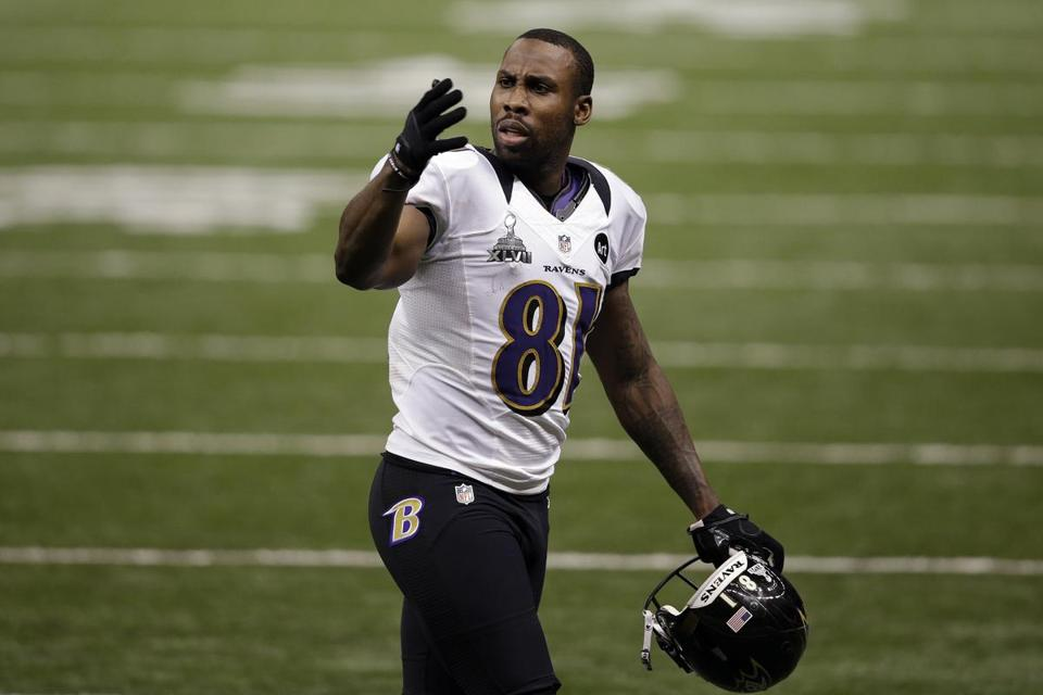 San Francisco acquired Anquan Boldin, 32, for a sixth-round draft pick.