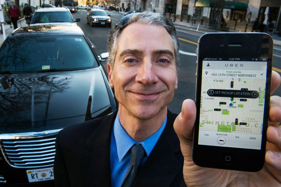 Peter Faris, CEO of Szabo Faris LLC Transportation Solutions, is an independent driver who works with Uber.