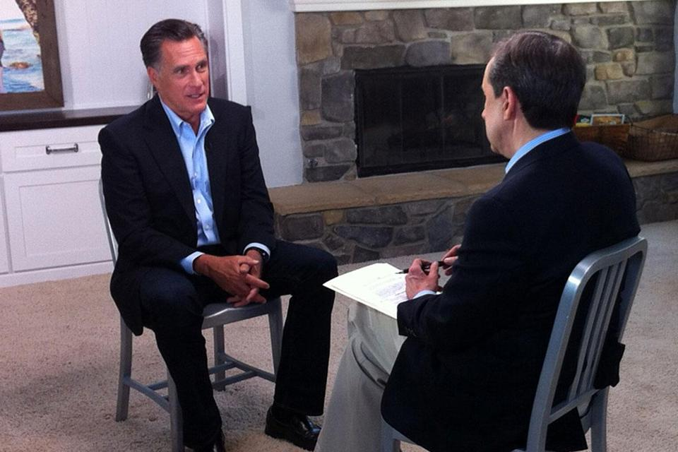 Mitt Romney recently gave his first interview since the election to Chris Wallace of Fox News Sunday.