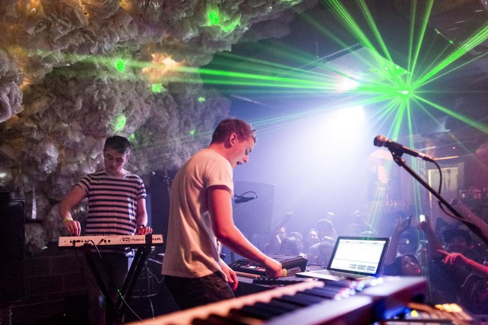Howard and Guy Lawrence of the British garage-house duo Disclosure performing in Brooklyn, N.Y., late last year.