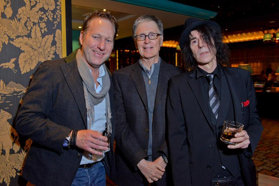 From left: Joe Kane, John Henry, and Peter Wolf at Empire.