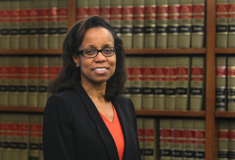 US District Court Judge Denise J. Casper.