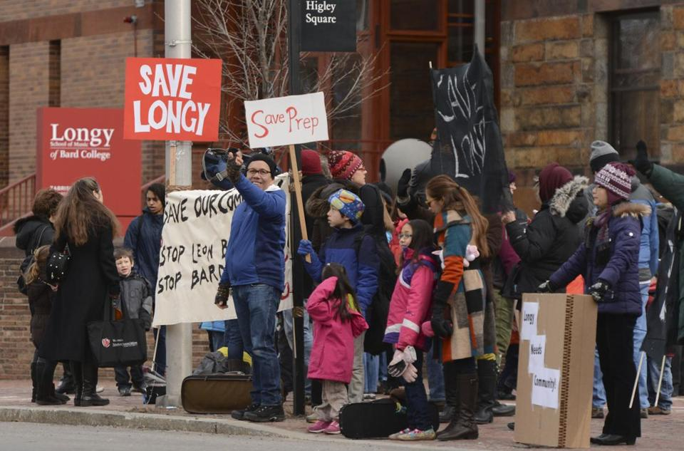 Longy School of Music has drawn protests for its decision to stop serving the public.