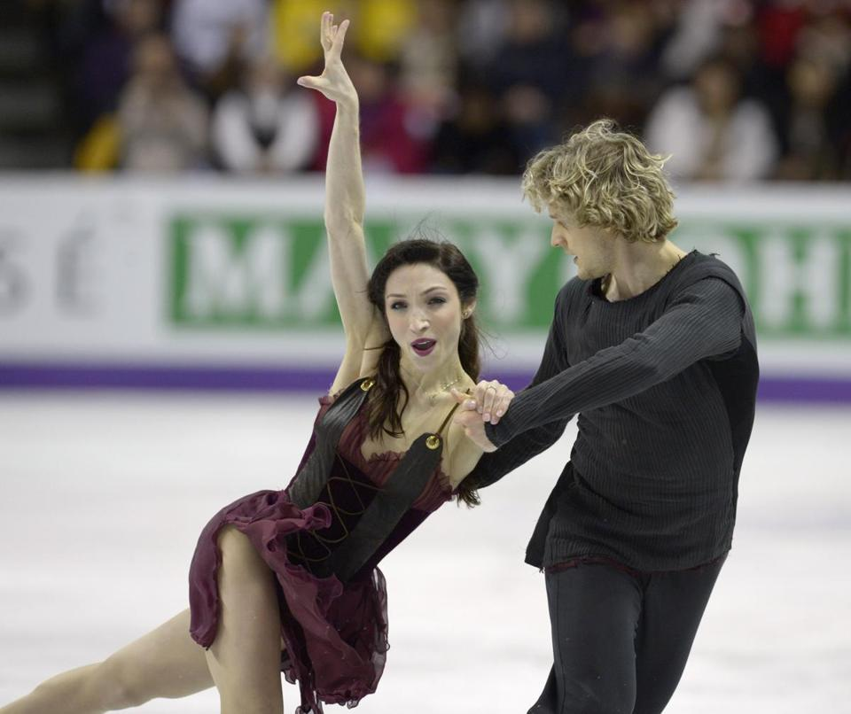 Meryl Davis and Charlie White of the United States submitted a flawless performance to earn the gold.