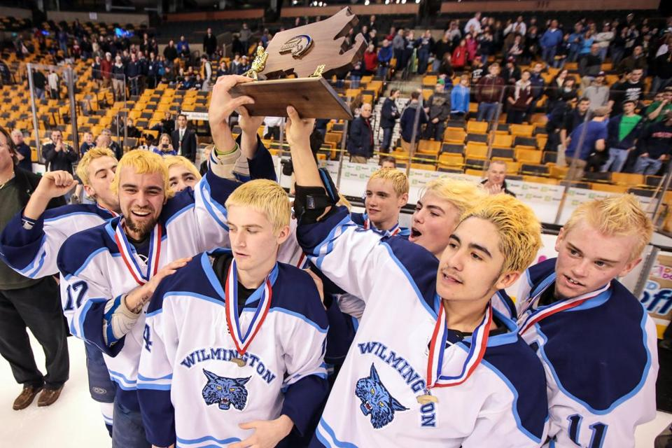 The Wildcats went to hair-raising lengths for team unity, but there was nothing fake about the Division 2 trophy.