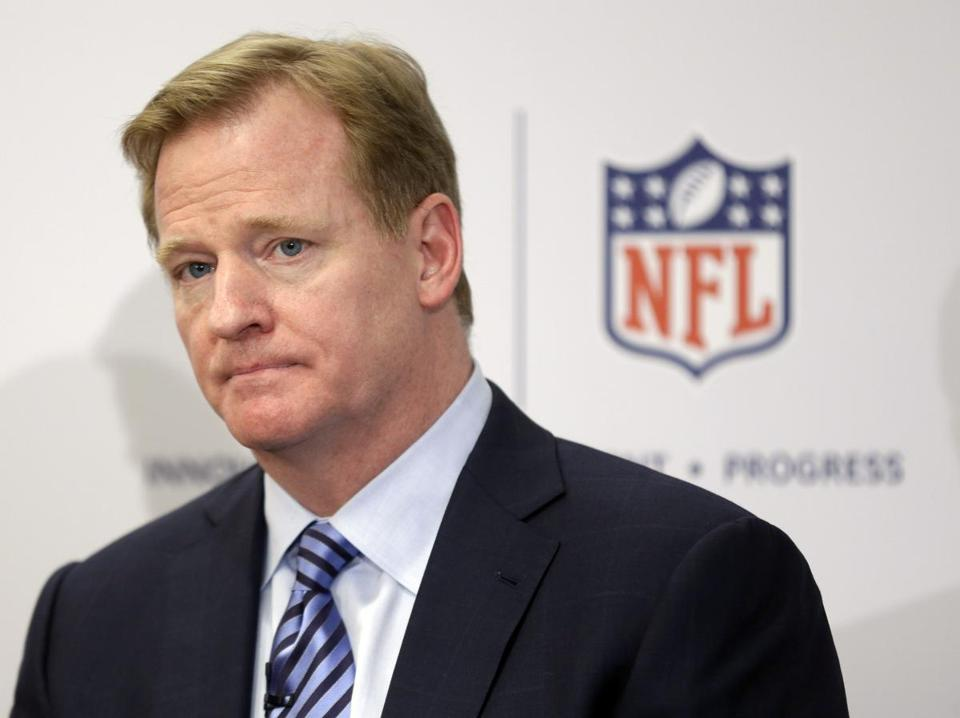 Usually, rule changes and a press conference by commissioner Roger Goodell are the highlights of the league meetings.