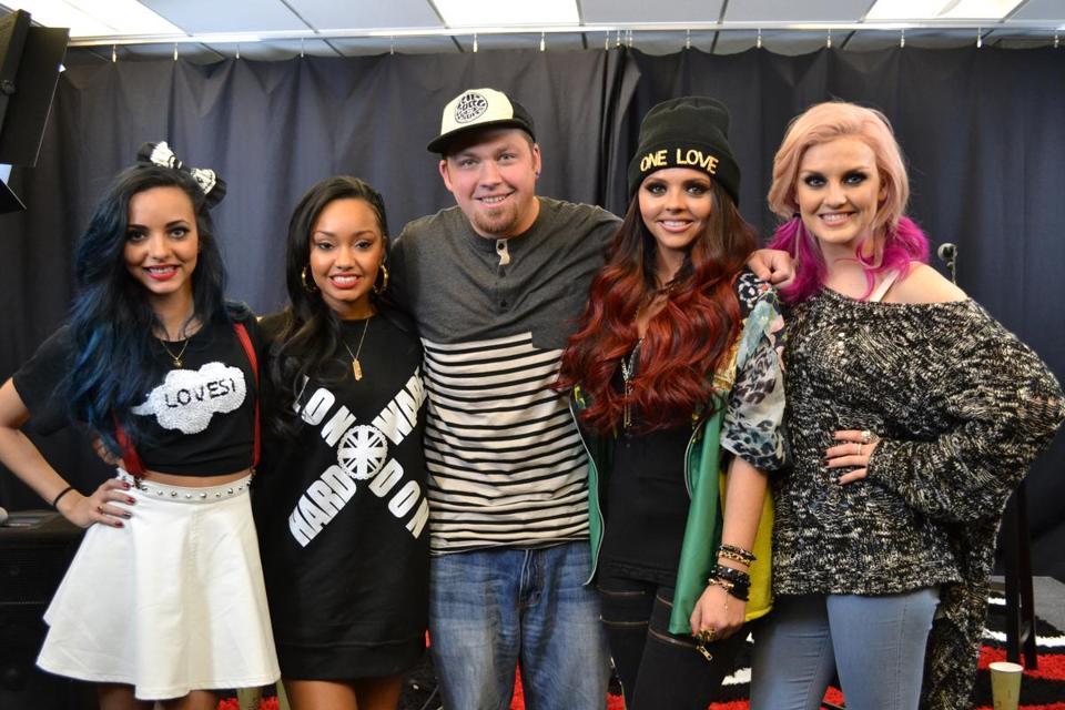 Little Mix Drops By Kiss 108 The Boston Globe