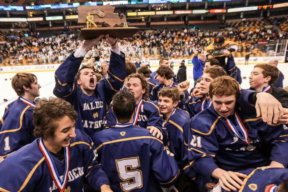 Malden Catholic, helped by All-Scholastic Ara Nazarian, won the Super 8 title this season.