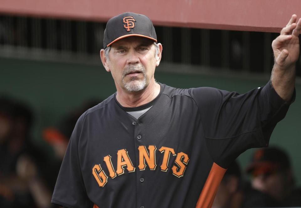 Giants manager Bruce Bochy has won two World Series in the past three seasons.