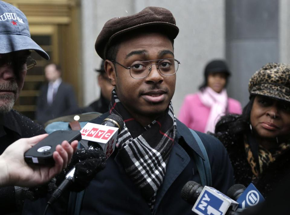 Devin Almonor was among those who testified at the start of the trial on Monday. The lawsuit, now a class-action, seeks a court-appointed monitor to oversee changes to how the police make stops.