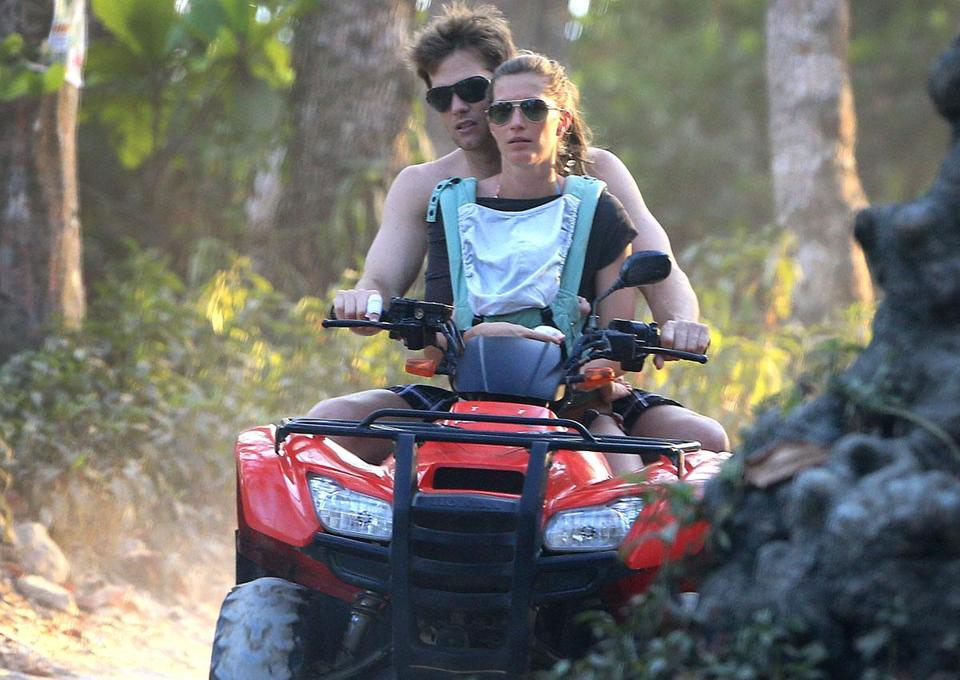 Tom Brady And Gisele Bundchen Vacation In Costa Rica The