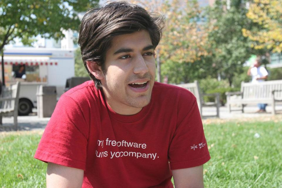 Aaron Swartz committed suicide in January while facing felony charges.
