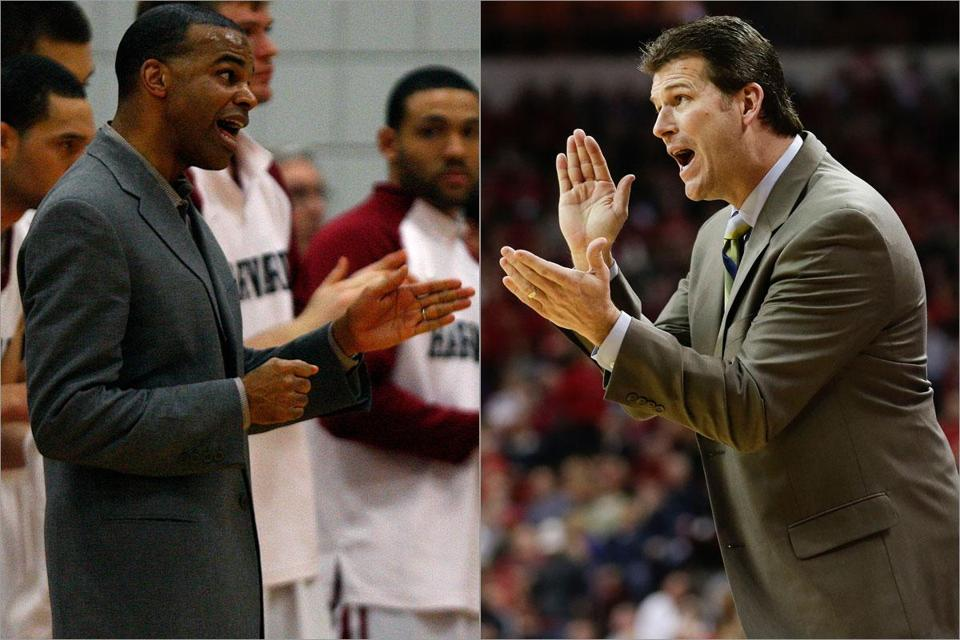 Harvard coach Tommy Amaker and NewMexico coach Steve Alford have competed once as players and nine times as head coaches in the Big Ten.