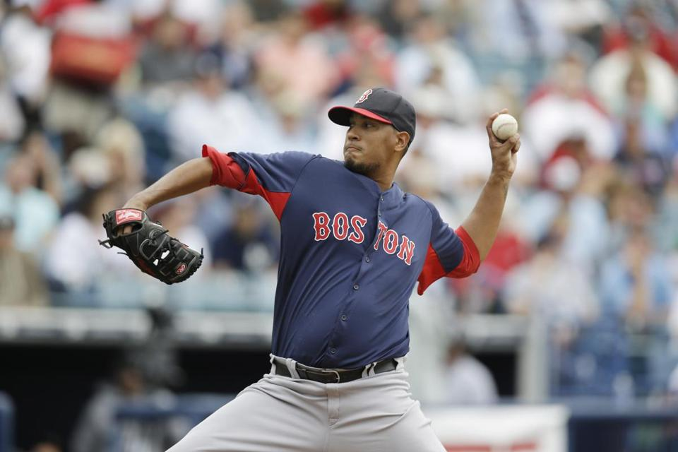 Red Sox starter Felix Doubront gave up four runs in the second inning in a 4-0 loss to the Yankees.