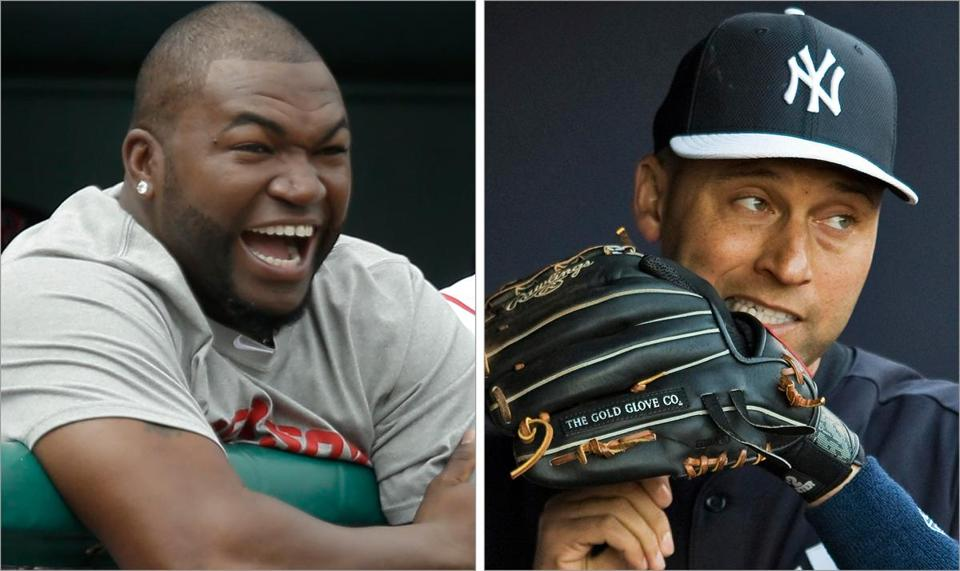 Resident icons David Ortiz and Derek Jeter may not be ready for April 1, when the Sox and Yankees meet.