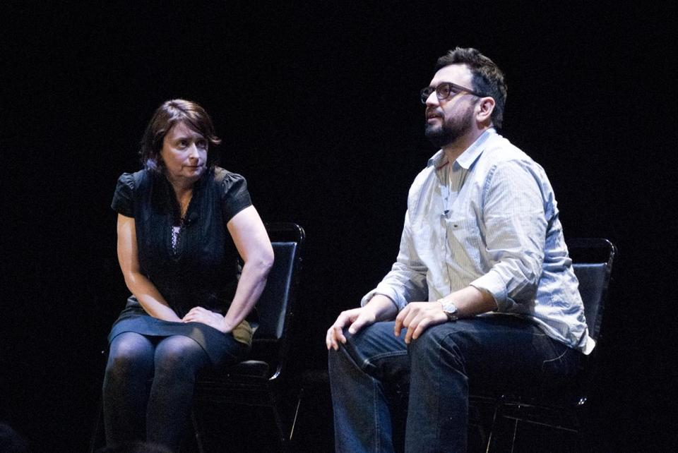 "The Women in Comedy Festival kicked off at the Wilbur with an appearance by the Upright Citizens Brigade show featuring ""Saturday Night Live"" alums Rachel Dratch and Horatio Sanz."