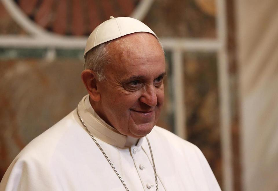 "Pope Francis said he wishes to build bridges that will ""connect all people.''"