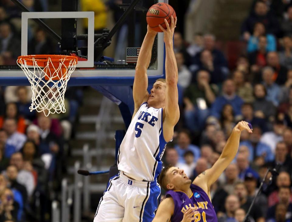 Mason Plumlee and Duke were too much for Albany.
