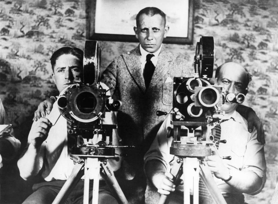 "Erich von Stroheim is one of the real characters that mingle with the fictional ones in ""American Sun."""