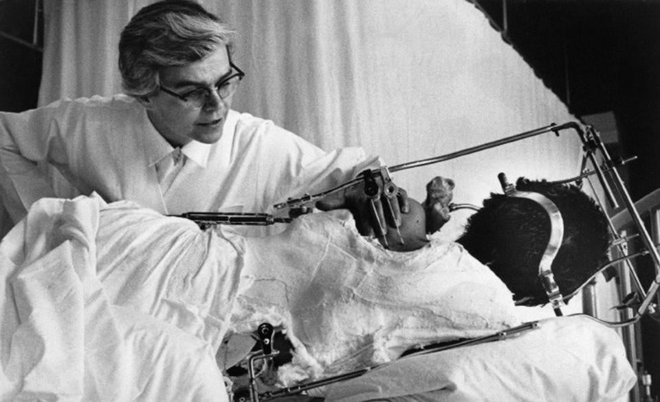 Dr. Jacquelin Perry, shown in this undated photo, collaborated on a new surgery for paralyzed polio patients.