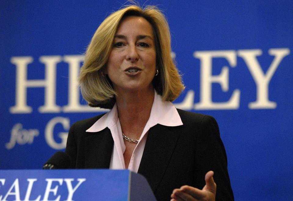Former Lieutenant Governor Kerry Healey.