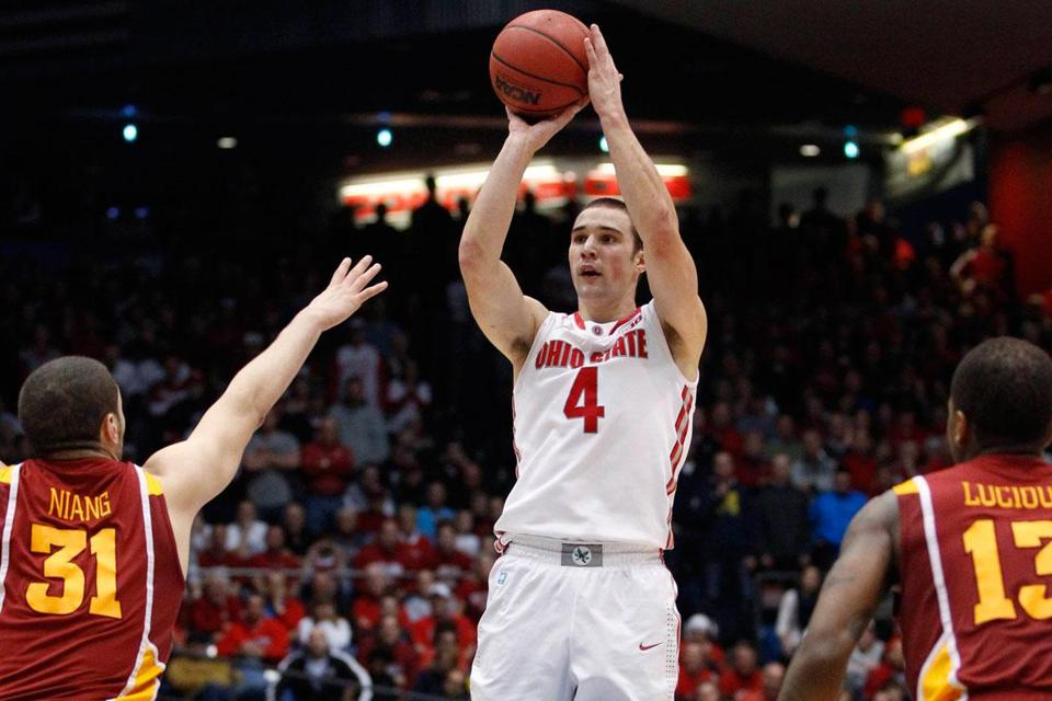 Aaron Craft had a clear look when he sank a 3-pointer in the final second to help Ohio State beat Iowa State.