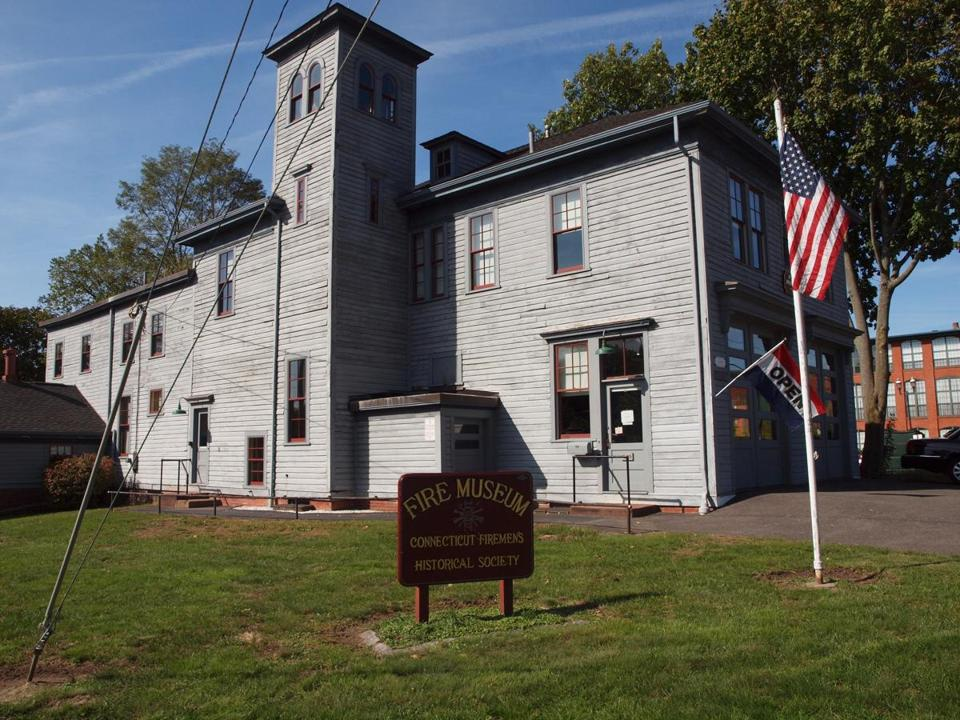 The Fire Museum in Manchester, Conn., is in a 1901 firehouse in the Cheney Brothers Historic District.