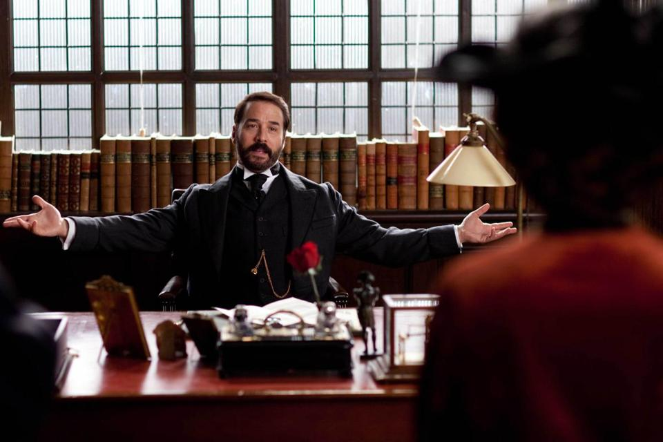 "Jeremy Piven stars as Harry Selfridge, an American retailer in early 1900s London, in the ""Masterpiece Classic"" miniseries."
