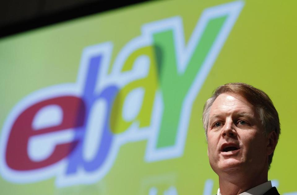 CEO John Donahoe said the US shutdown is partly to blame, having unnerved consumers.
