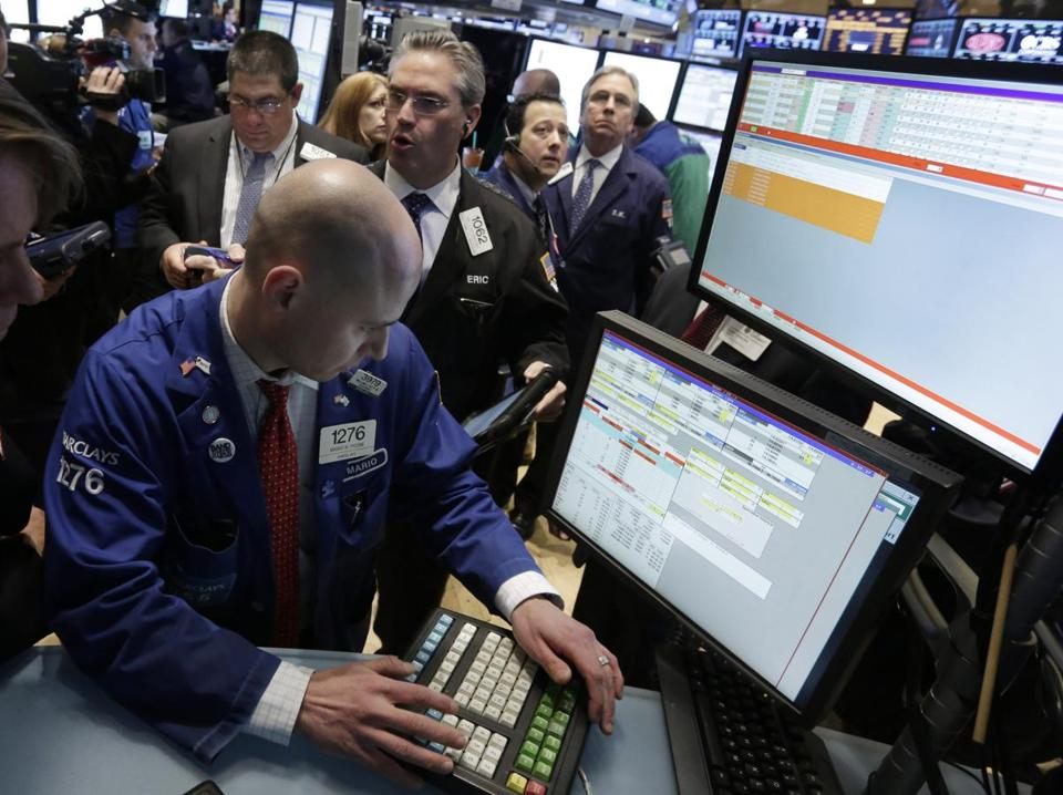 Traders worked the floor of the New York Stock Exchange earlier this week.
