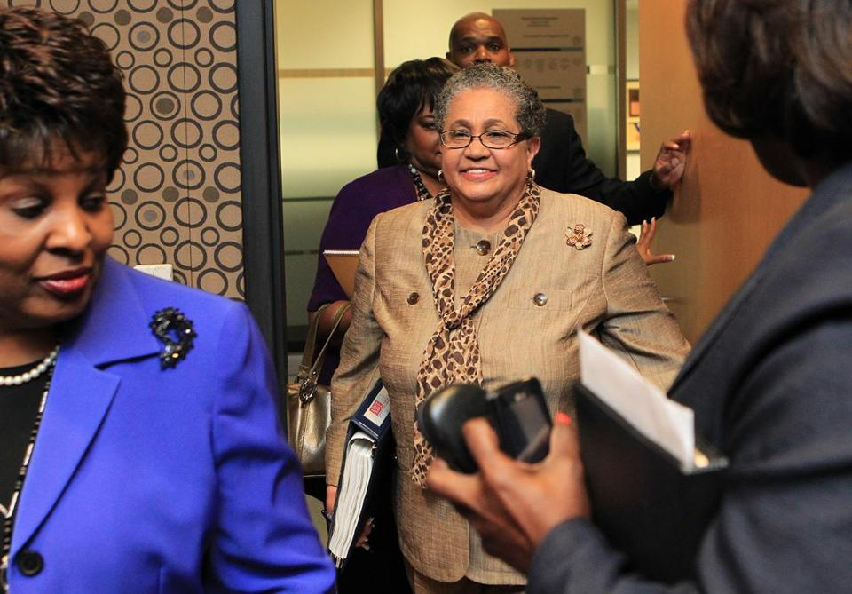 Former Atlanta school chief Beverly Hall and dozens of others were indicted.