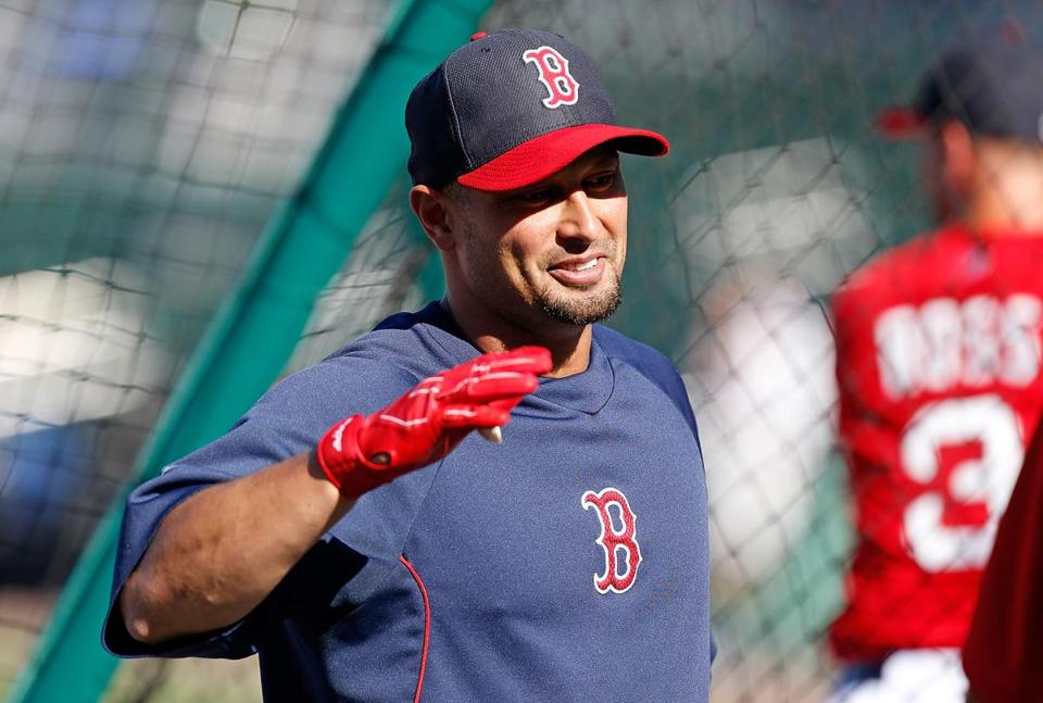 """We've got the right personalities, we've got the right personnel,'' Shane Victorino says of the 2013 Red Sox. ""We've got the right chemistry. Now if we go out there and produce ..."""